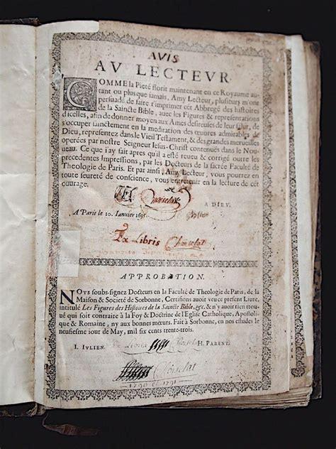 la bible bible les figures des histoires de la saincte bible edition originale com