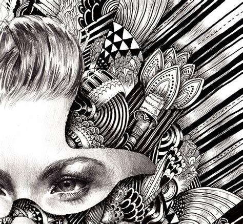 pattern portrait artist 17 best images about zentangle on pinterest zentangle