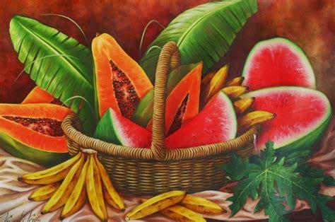 cuadros de oleo de frutas pinturas al oleo de frutas