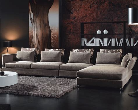 Contemporary Living Room Furniture Adding Style In Contemporary Living Room Sofa