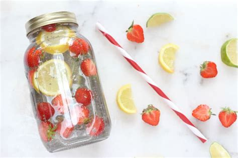 fruit and chia chia fruit water my fussy eater healthy recipes