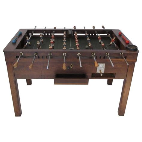 Vintage Foosball Table by Vintage Foosball Table For Sale At 1stdibs