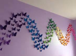 creative diy paper butterfly wall decor ideas chilli