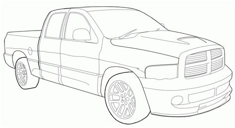 dodge ram coloring pages coloring home