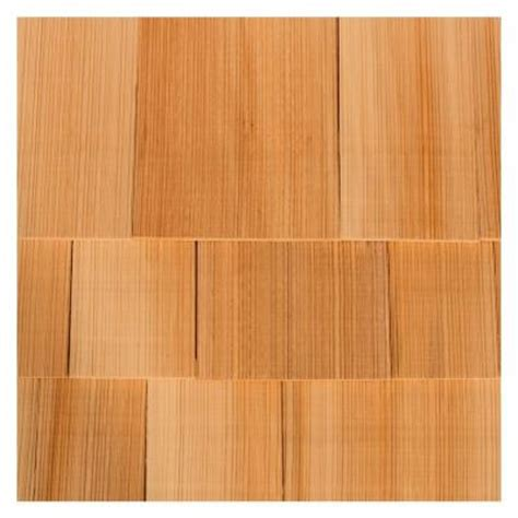 18 in wood western cedar grooved shingle 234514 the