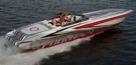 fountain boats shirts 2014 fountain 47 lightning review top speed