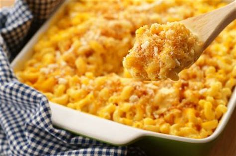 Cheesy Macaroni Panggang Large paul s baked macaroni and cheese recipe sparkrecipes