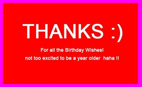 Thanks For Wishing Birthday Quotes All Thank You Birthday Quotes Quotesgram