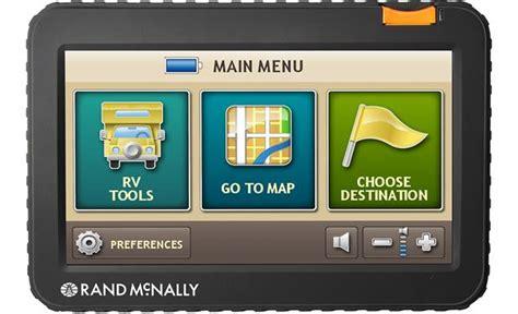 randy mcnally gps rand mcnally rvnd 7720 lm portable navigator for rv