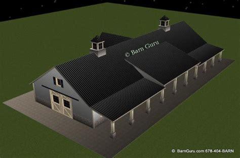 barn plans  stall horse barn design floor plan