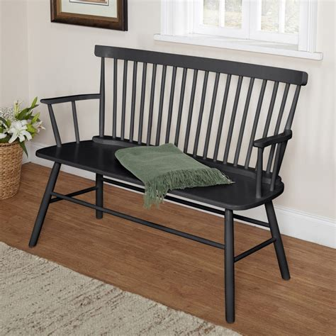 black windsor bench windsor chair seating bench or single seat