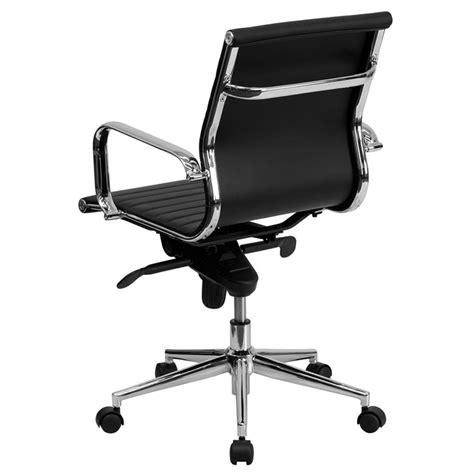 kontor low back desk chair channel modern low back office chair eurway furniture