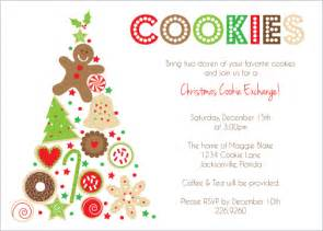 cookie invitation template 8 best images of cookie printable invitation template