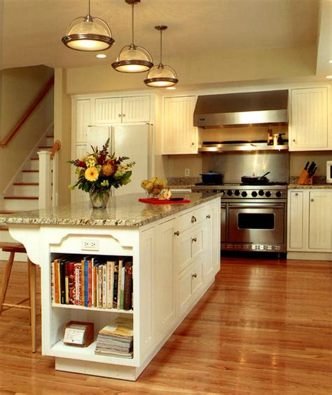 Wrap Around Kitchen Cabinets by Shingle House With Wrap Around Porch Traditional