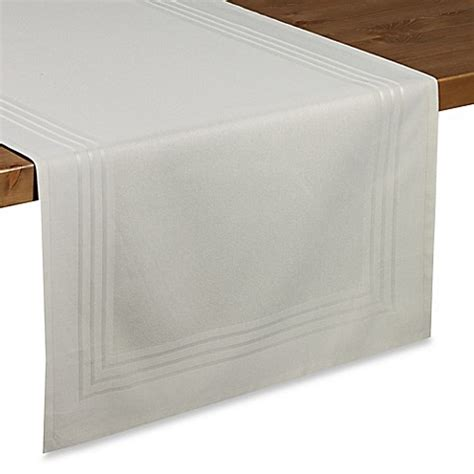 table runners bed bath and beyond wamsutta 174 collection chatham table runner bed bath beyond