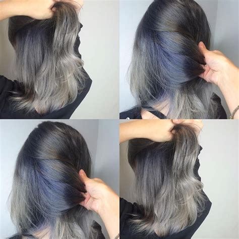 putting silver pravana over brown hair 1000 ideas about pravana hair color on pinterest violet