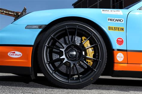 gulf racing gulf racing livery by cam shaft for the porsche 911 turbo