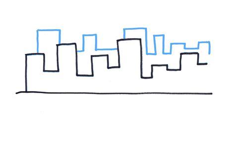 How To Draw A City Skyline