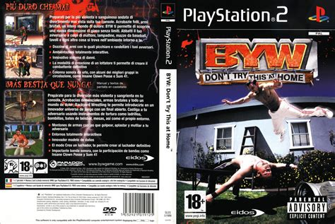backyard wrestling dvd byw don t try this at home jeu playstation 2 images