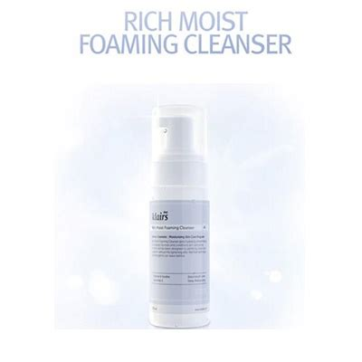 Klairs Rich Moist Foaming Cleanser 100ml qoo10 klairs rich moist foaming cleanser 100ml skin care
