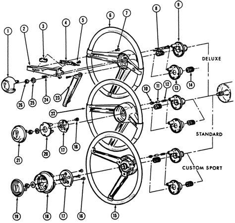 1968 camaro steering column embly diagram 1968 free