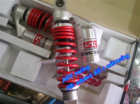 Shock Beat Yss Tabung spare parts motor cbu dan part racing drag bike roadrace