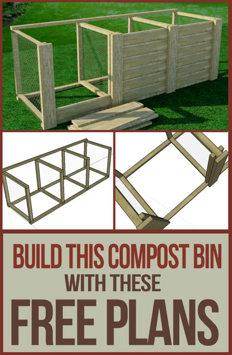 Outdoor Kitchen Design Plans 25 Diy Compost Bins For Composting Food And Yard Waste