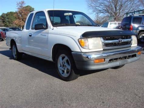 Toyota Tacoma Sr5 Specs 1999 Toyota Tacoma Sr5 V6 Extended Cab Data Info And