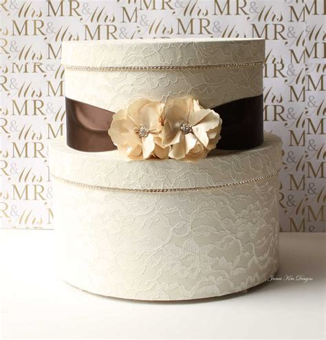 how to make a wedding card box with paint lace wedding card box 13 gorgeous wedding card and money