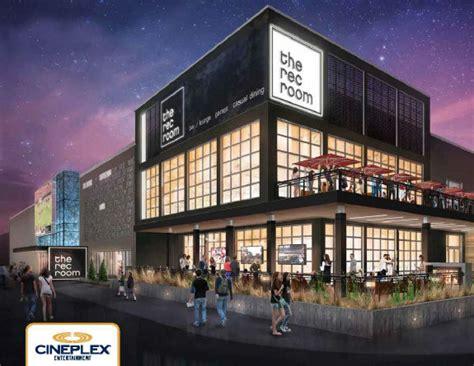 rec room south cineplex plans entertainment complex toronto