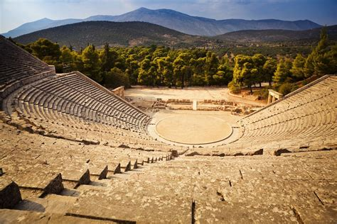 Making A Dining Room Table Ancient Epidaurus Theatre Poseidonion Com