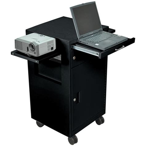 luxor cart with locking cabinet luxor multimedia cart with locking cabinet model lmc2b lmc2 b