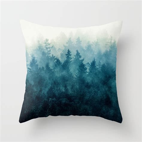 Throw Pillow Design by Nature Throw Pillows Society6