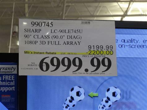 80 Inch Tv Costco by Sharp 90 Inch Lc 90le745u Tv