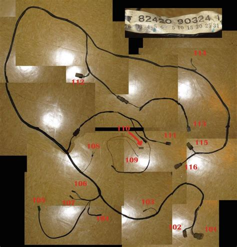 1972 fj40 wiring harness wiring diagram with description