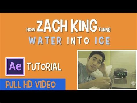 tutorial after effect zach king 21 best after effects tutorials images on pinterest