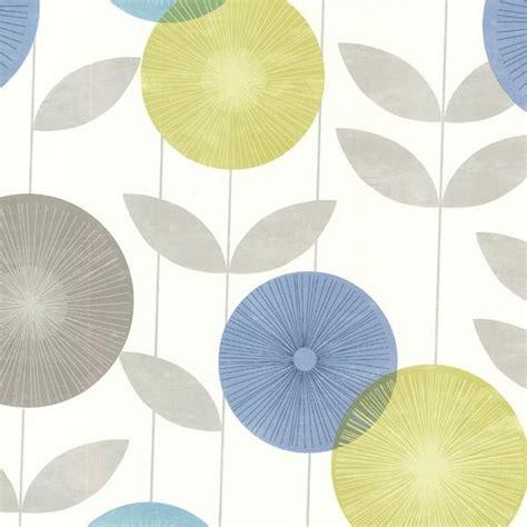 brewster home fashions monroe aquamarine modern floral