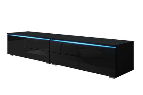 porta tv led porta tv grande con led gaud 236 mobile con cassetti in 4 colori