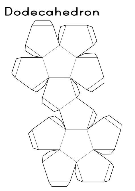 printable 3d net shapes free printable shape nets activity shelter