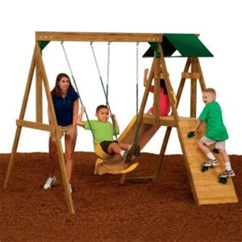 home depot swing set kit playset kits home depot