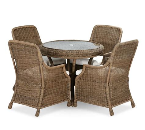 pottery barn bistro table saybrook all weather wicker fixed bistro table