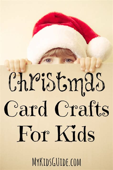 sweet simple christmas card crafts for kids