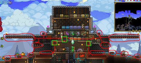 Homes Decorated For Fall by Image Heavily Defended Fortress Png Terraria Wiki