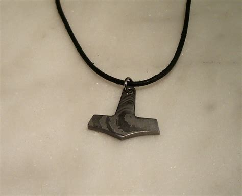 thor s hammer pendant by silver11k on deviantart