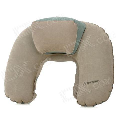 Free Travel Pillow by Joytour U Shaped Travel Air Cushion Neck Pillow