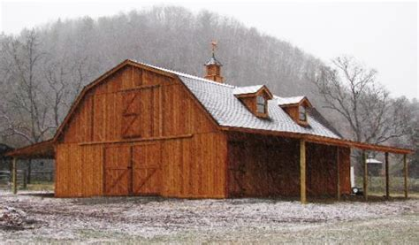 quality gambrel roof pole barn plans woodworking barns and buildings quality barns and buildings horse