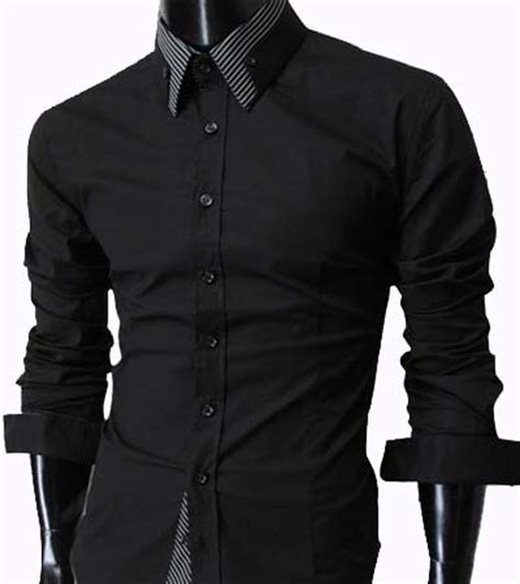 Longch Ruban Size M With Defect s casual slim fit dress shirt black size m with minor defect 18 no return