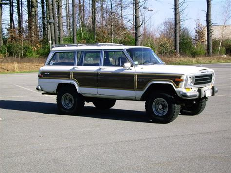 jeep wagoneer 1990 mourningwoody 1990 jeep grand wagoneer specs photos