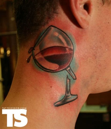 wine glass tattoo 60 glass tattoos and ideas