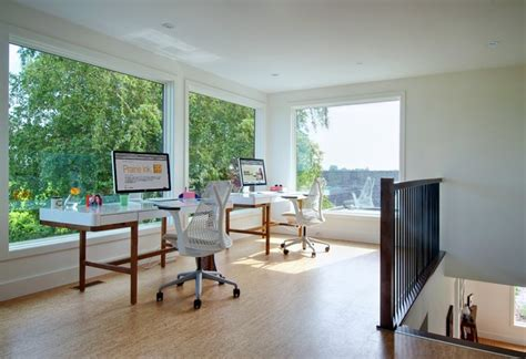 My Houzz Niagara Vineyard Renovation Contemporary Home Office Designs For Two